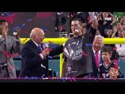 Super Bowl 51 Postgame Celebration And Trophy Presentation
