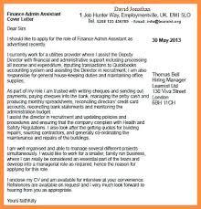 Cover Letter For Finance Assistant Finance Assistant Resume Finance