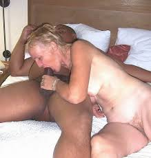 Black dick old woman