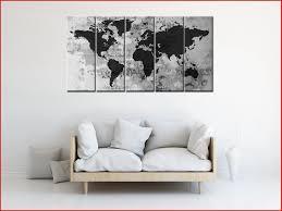 Wereldkaart Behang Zwart Wit