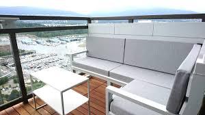 Furniture for condo Bedroom Custom Micro Patio Furniture For Small Space Condo Patios Indroyal Properties Patio Micro Furniture Dean Cloutier Industrial Design