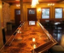 bar top lighting. mottled copper bar in a restaurant colorcopper bartop top lighting