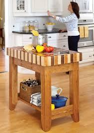 Kitchen Simple Kitchen Island Plans