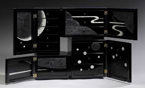 Laquer furniture Painting Mobilia Gallery Mahogany Cabinet By Yoko Zeltersmanmiyaji Japan Objects Guide To Masterpieces Of Japanese Lacquer