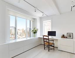 home office white. White Scandinavian Home Office Design P