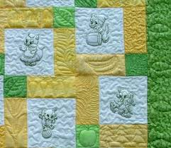 St&ed Embroidery Baby Quilt Tops Embroidered Baby Quilt Patterns ... & Stamped Embroidery Baby Quilt Tops Embroidered Baby Quilt Patterns Hand  Embroidery Baby Quilt Kits Adamdwight.com