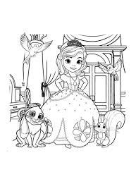 Pour Imprimer Ce Coloriage Gratuit Coloriage Princesse Sofia