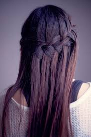 Amazing Waterfall Braid In A Deep