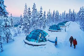 Glass Igloo Northern Lights Accommodation Kakslauttanen