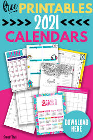 Printable blank monthly calendar for 2021 available with large square spaces for each day of the month. Beautiful Artwork 2021 Printable Calendars For Free Sarah Titus From Homeless To 8 Figures