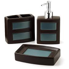 bathroom accessories set walmart. bathroom accessories | hometrends gridlock 3 piece set - walmart.com walmart c