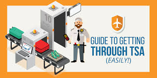 how to easily get through tsa airport security includes infographics