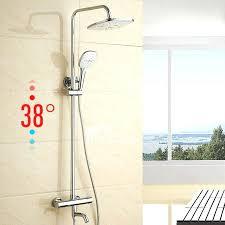 shower system kit schluter systems kerdi shower kit 32x60 off center drain