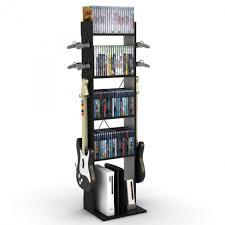 Fantastic Furniture For Living Room Decoration Using Unique DVD Storage  Ideas : Appealing Image Of Modern