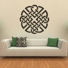 celtic knot wall sticker headboard wall decal bedroom home decor