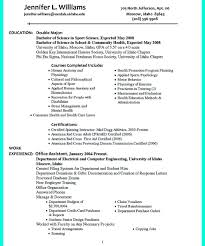 College Recruiting Resume Sample College Golf Recruiting Resume Krida College Golf Resume Template 21