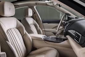 maserati levante granlusso interior front seats and gear