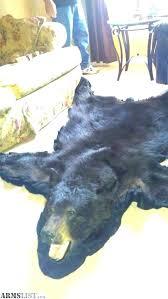 fake bear skin rug with head faux bear skin rug with head faux black bear rug