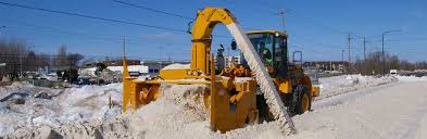 loader mounted snow blowers