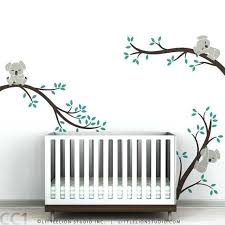 baby room wall sticker beautiful koala baby nursery wall decal koala tree wall decal for sleepy