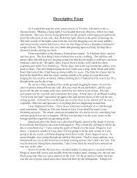 of descriptive essay examples of descriptive essay
