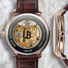 louis bolle watch louis bolle skeleton mens watch msrp 799 00