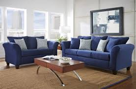 dark blue couch. Fashionable Dark Blue Sofas Pertaining To Living Room : Furniture Design With Small Table Couch