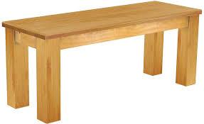 Möbel Weiss Sitzbank Rio Classico 140 X 38 X 45 Cm Pinie