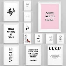 fashion wall art girl boss prints