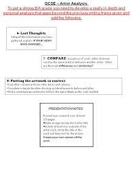 analysis in writing image titled analyze handwriting graphology visual art gcse blog artist analysis writing frame