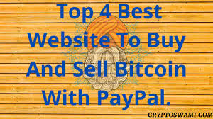 Paypal allows customers to buy, sell, and hold bitcoin and other cryptocurrencies on the paypal platform using a linked debit card or bank account, paypal cash balance, or cash plus balance. Top 4 Best Website To Buy And Sell Bitcoin With Paypal Cryptoswami