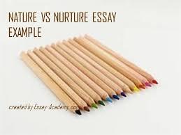 nature vs nurture essay example  authorstream