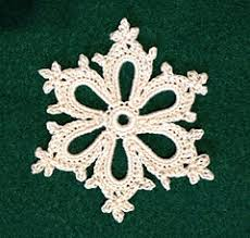 Crochet Snowflake Pattern Simple Ravelry Irish Crochet Snowflake Pattern By Courtney Brock