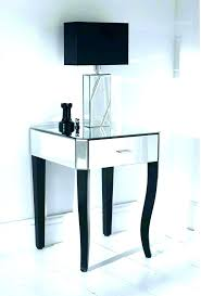 tiny bedside table white