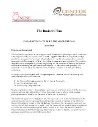 Nonprofit Business Plan Template Business Plan Archives Page 9 Of 16 Pdfsimpli