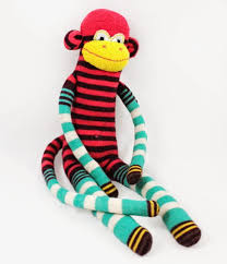 today we are going to continue making our sock monkeys and i am going to show you how to do the ears and arm pieces