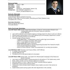 Sample Ng Resume Tagalog Cheap Sample Resumes For Medical Assistant