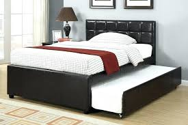 Wooden Twin Trundle Bed Wooden Trundle Bed Frame Full Size Of Bed ...