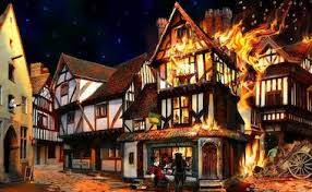Image result for tudor house great fire of london
