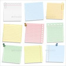 Notebook Templates 10 Notebook Paper Templates Eps Pdf Free Premium