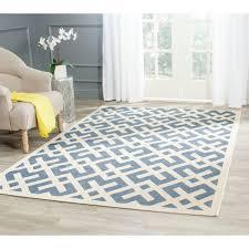 safavieh courtyard contemporary blue bone indoor outdoor rug 9 x within rugs plan 16