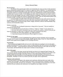 research paper sample discuss process developing research library research paper sample the research report csulb style and