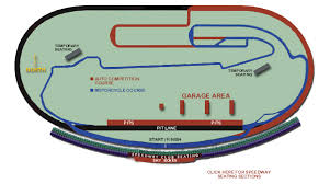 Racing Adventures Seating Charts California Speedway
