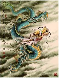 whole traditional chinese painting dragon tattoo flash 2016 new tattoo book