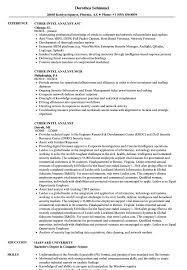 Cyber Intel Analyst Resume Samples Velvet Jobs