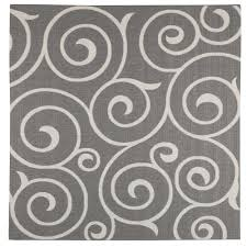 home decorators collection whirl grey champagne 9 ft x 9 ft square indoor