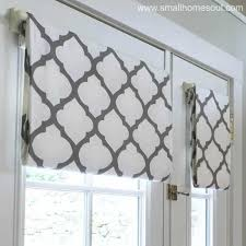 closeup of simple french door curtains opened