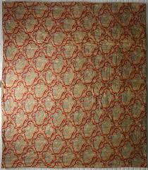 view large image red paisley cotton whole cloth antique quilt