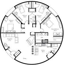 alluring round house plans free 32 best floor images on small homes