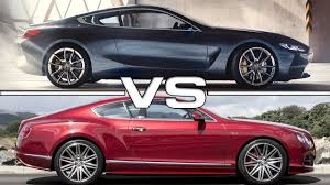 2018 bentley gt speed. exellent 2018 2018 bmw 8 series vs 2016 bentley continental gt  luxury sedans in bentley gt speed
